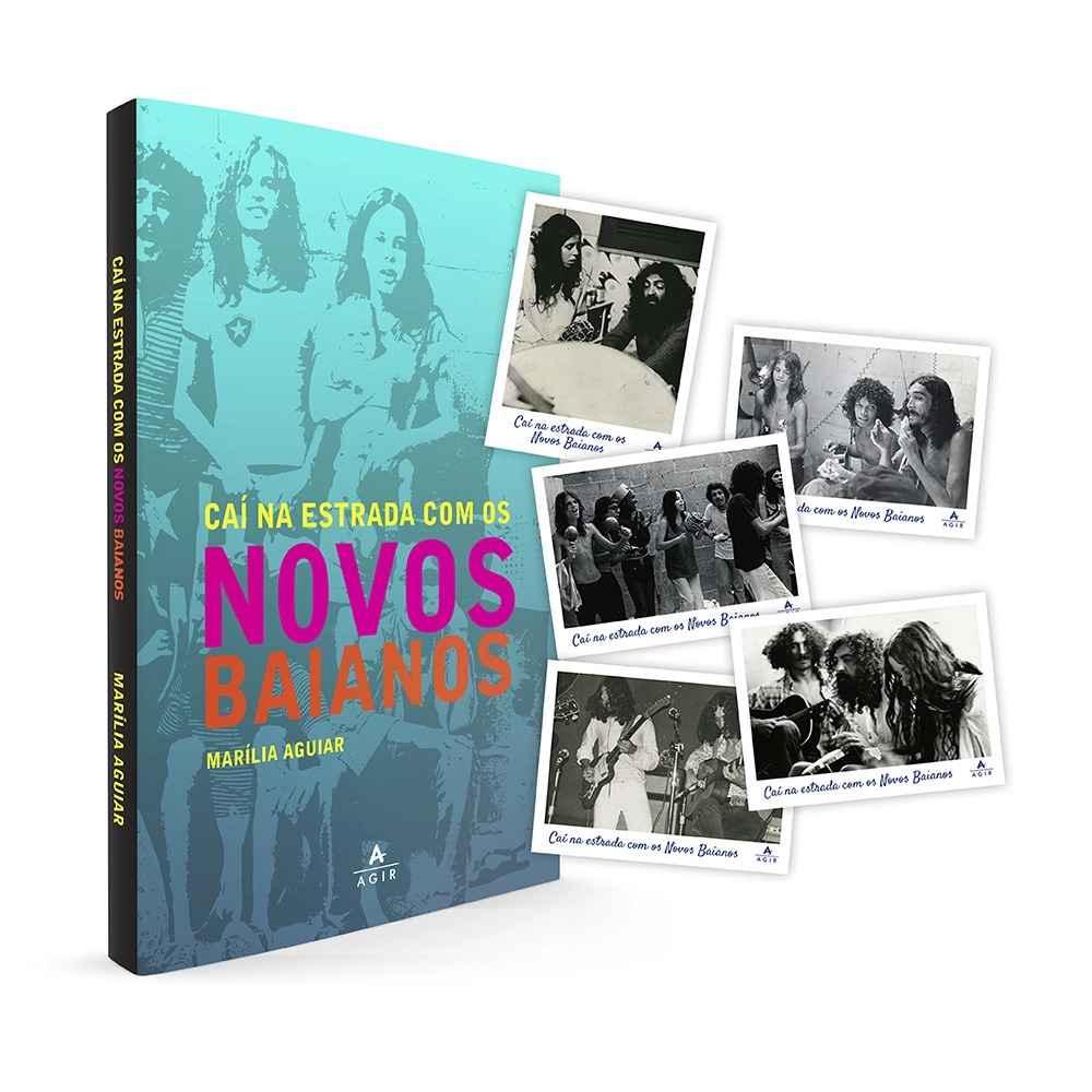O livro conta com prefácio de Zélia Duncan e posfácio de Paulinho Boca de Cantor.
