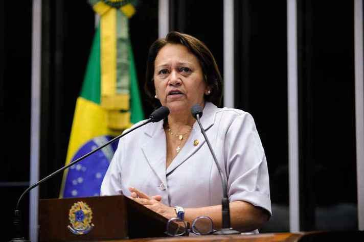 Fátima Bezerra (PT/RN), única governadora eleita em 2018