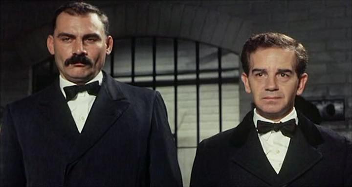 Cena de 'Sacco e Vanzetti', filme de 1971