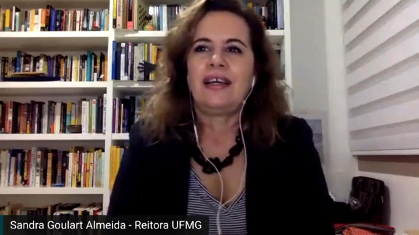 Sandra Goulart: universidades enfrentam pandemia com orçamento de uma década atrás