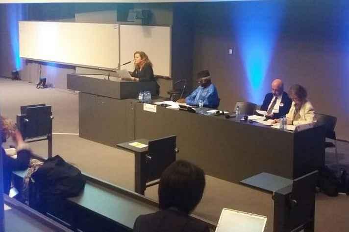 Vice-reitora Sandra Almeida fez apresentação acadêmica na Conferência de Humanidades, na Bélgica
