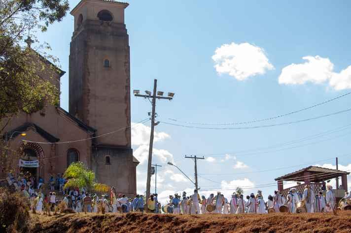 Manifestação religiosa no distrito de Miguel Burnier: memória ameaçada