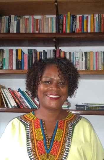A pesquisadora Geovania Lúcia dos Santos