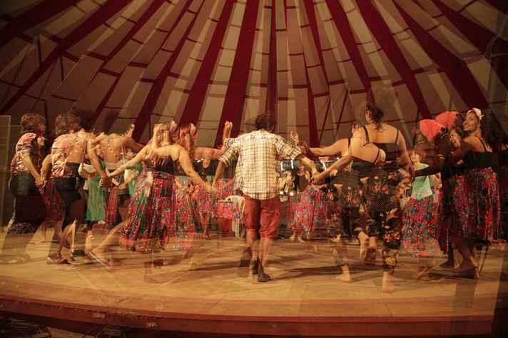 Atividade da formação transversal em Culturas em Movimento (UFMG)