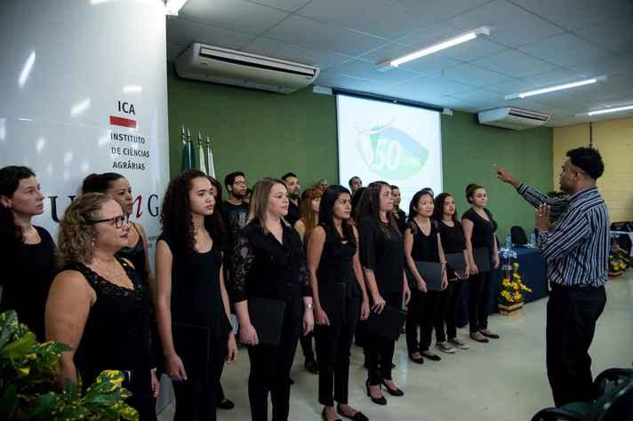 Concerto marcou estreia do Coral do ICA