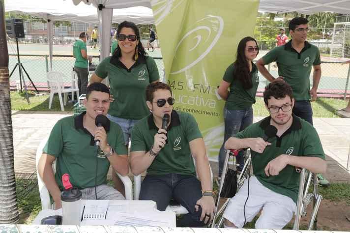 A parceria das equipes da Rádio UFMG Educativa e da Rádio Estudantil já fez sucesso na final do Campeonato em 2018