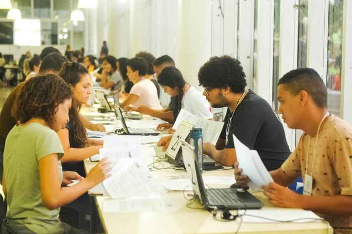 Registro acadêmico presencial no campus Pampulha
