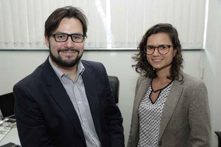 Raoni Rojão e Juliana Davis compõem, com Britaldo Soares-Filho, a equipe da UFMG que assina o artigo
