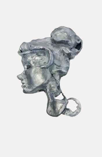 Escultura feita em fundição em Zamac