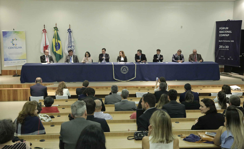 Dirigentes das agências de fomento participaram ontem da abertura do Fórum