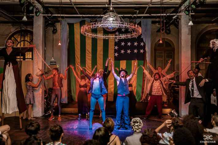 Festa Babylon Cabaret será apresentada n'A Central