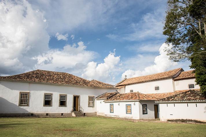 Vista do quintal do Museu Padre Toledo, um dos equipamentos culturais do campus Tiradentes
