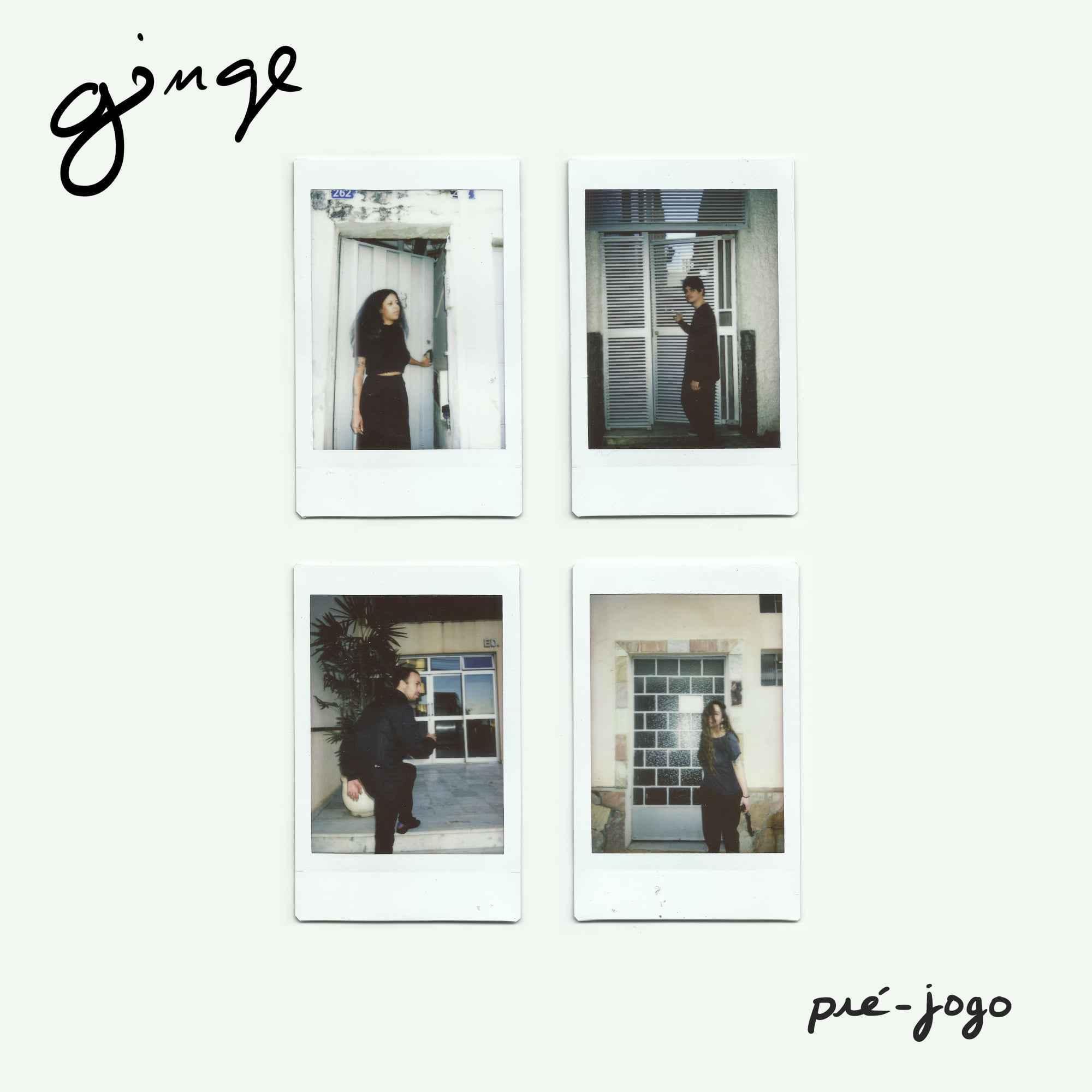 Capa do EP de estreia da banda Ginge
