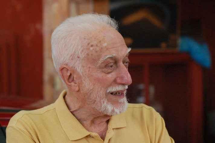 Wilson Baptista, em 2007, aos 94 anos