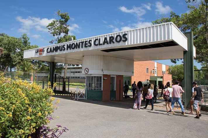 Instituto de Ciências Agrárias em Montes Claros onde são ofertadas 240 vagas