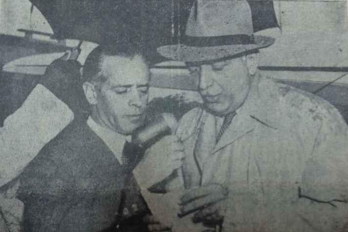 Gilberto Freyre (à direita):