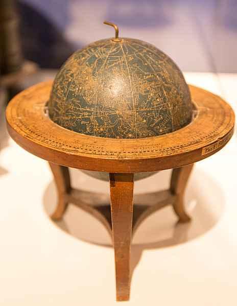 Globo terrestre em exibição no Museu das Culturas Europeias, em Berlim, na Alemanha