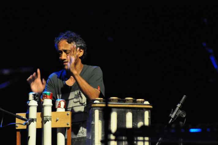 Cofundador do Grupo Uakti, Paulo Santos ministra oficina no 49º Festival de Inverno