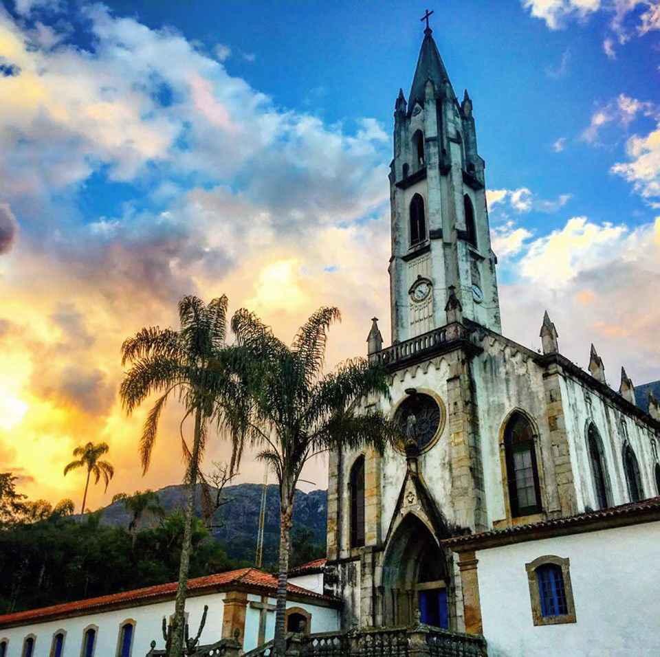 Santuário do Caraça abriga os seminários