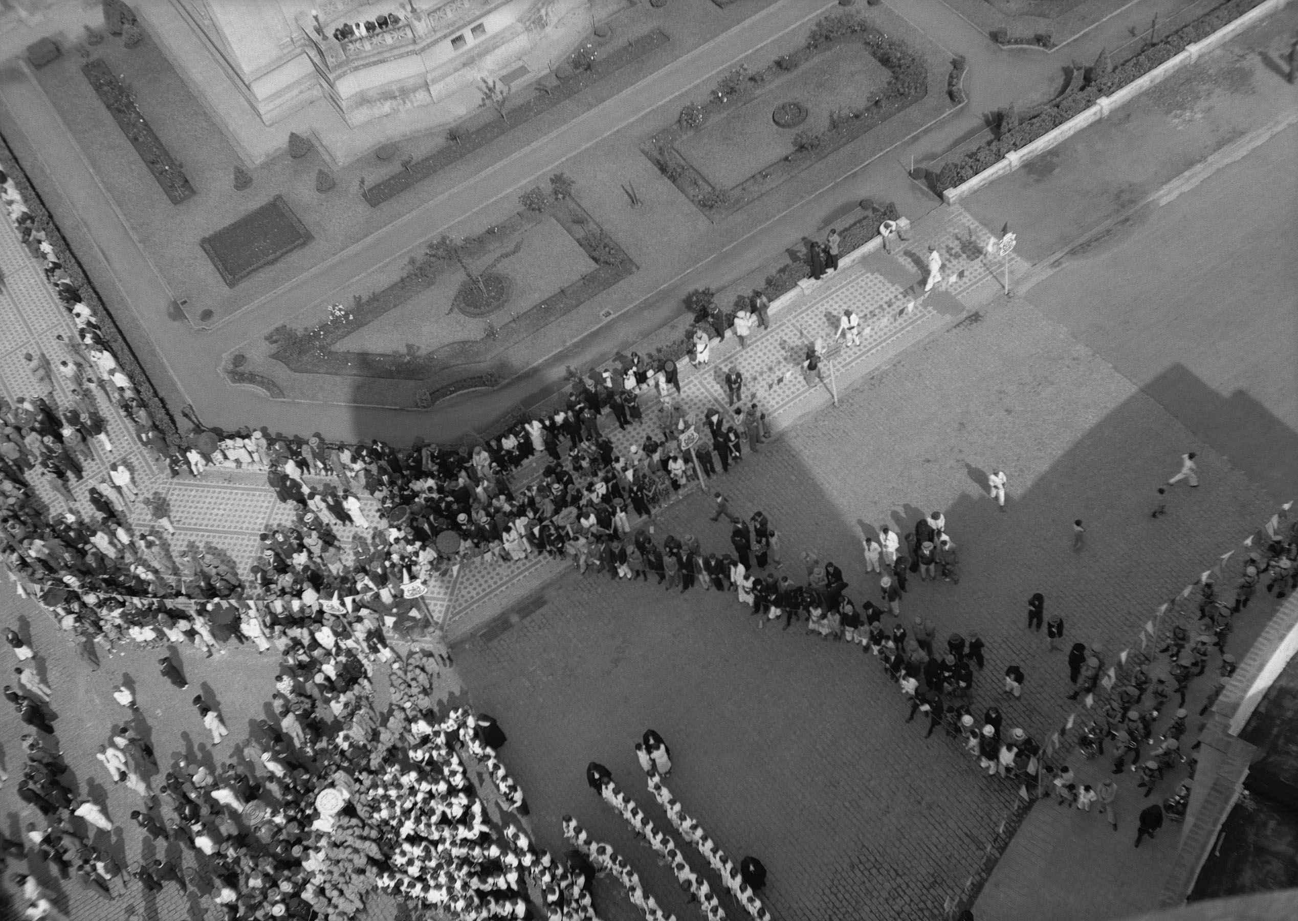 Praça da Feira de Amostras, 1937