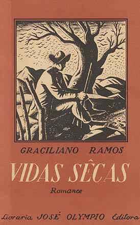 Capa da primeira edição de 'Vidas secas', publicada em 1938
