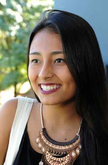 Johana Lozano, da Colômbia: planos de crescer profissionalmente com intercâmbio