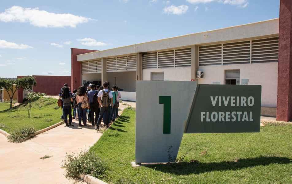 Prédio de Viveiro Florestal no Instituto de Ciências Agrárias (ICA) campus Montes Claros