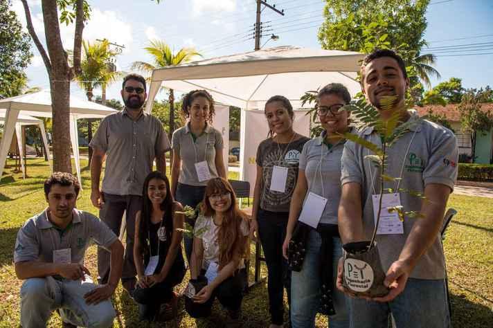 Integrantes do PET do Instituto de Ciências Agrárias, em Montes Claros