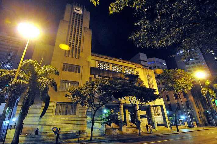 Registro da sede da prefeitura de BH