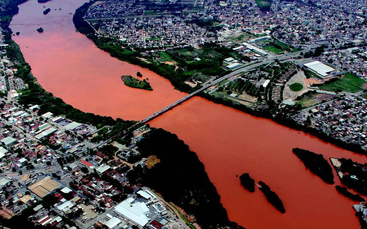 Vista de Governador Valadares, a maior cidade do Vale do Rio Doce