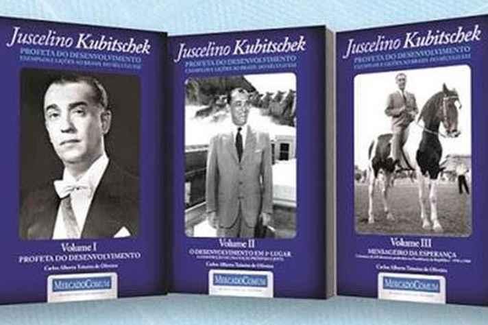 Coletânea apresenta vida e obra de JK em três volumes