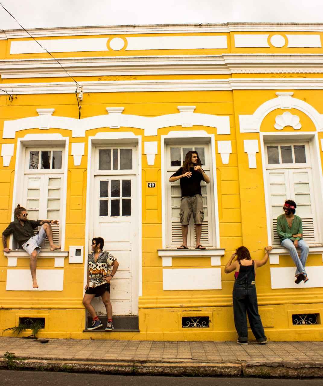 Cayena: banda formada há cerca de um ano