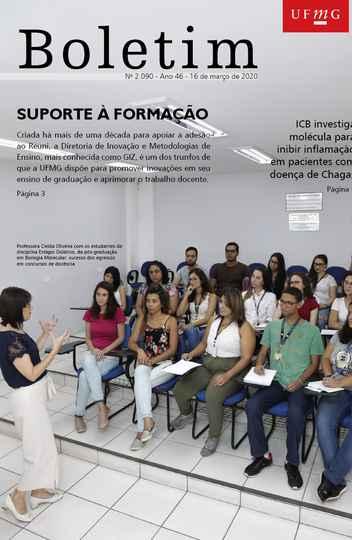 Capa da edição 2.090 (foto: Foca Lisboa / UFMG)