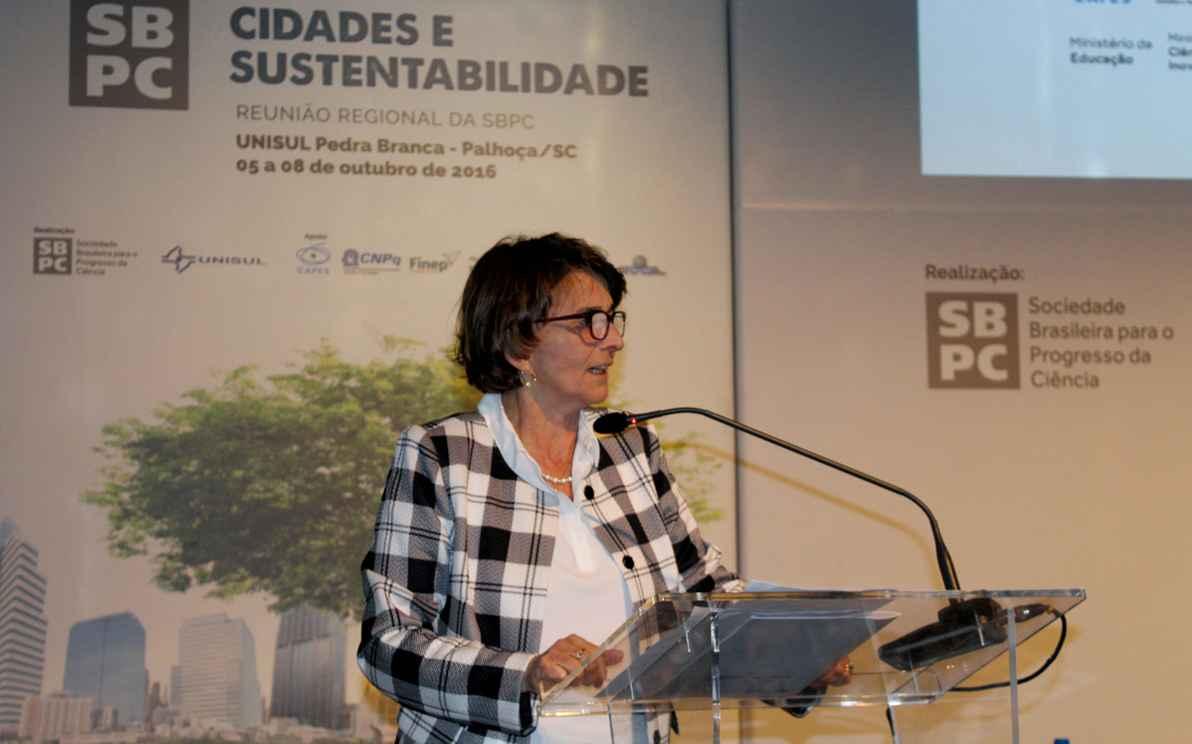 Helena Nader: reunião especial, que comemora 90 anos da UFMG e 50 da Finep