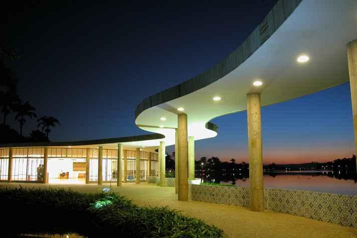 Casa do Baile é um dos prédios do conjunto arquitetônico reconhecido pela Unesco como Patrimônio Mundial da Humanidade