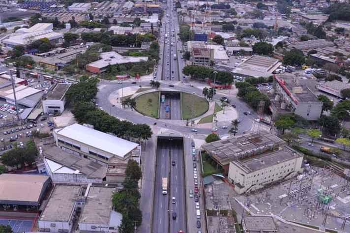 Praça da Cemig: região entrou na rota de desenvolvimento nos anos 40