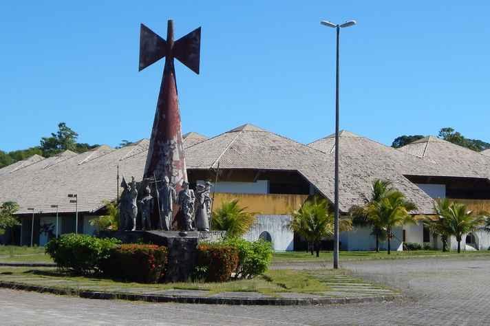 Campus da Universidade Federal do Sul da Bahia, em Porto Seguro, que sediará mais uma reunião da SBPC