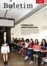 Em foto de 2019, a professora Terezinha Cristina da Costa Rocha e alunos da Formação em Acessibilidade e Inclusão