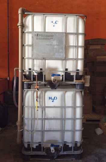 Equipamento purifica 1 mil litros em uma hora