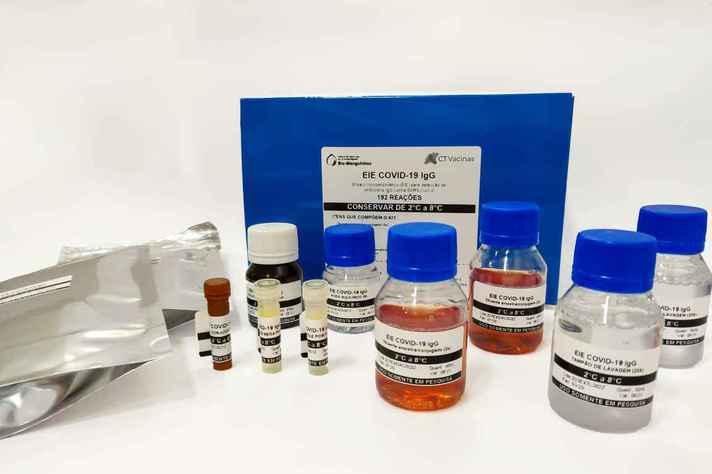 Kit sorológico para covid-19 desenvolvido pelo CT Vacinas em parceria com a Fundação Oswaldo Cruz