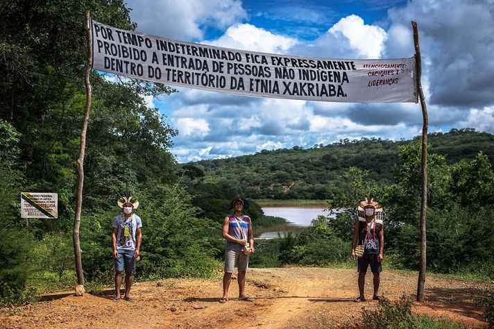 Monitoramento de controle de entrada no Território indígena Xakriabá