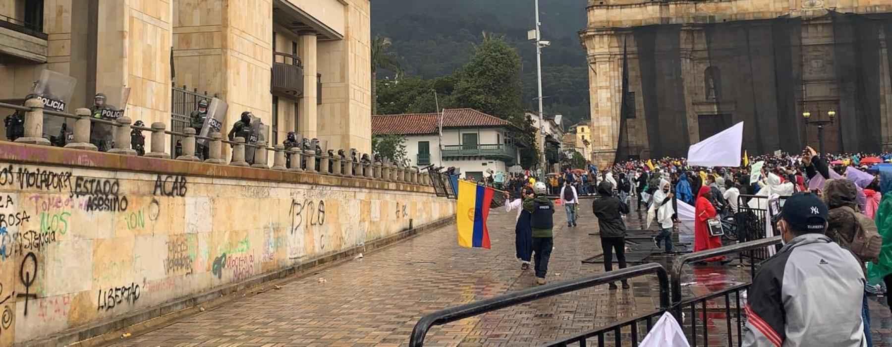 Violência policial contra manifestantes foi condenada pela ONU