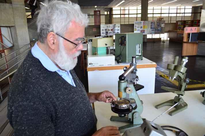Marcos Nicácio, professor aposentado do Coltec,