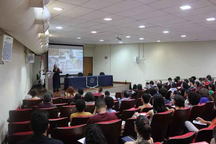 Atividade da Escola de Verão em Educação em Direitos Humanos realizada na UFMG em fevereiro de 2020