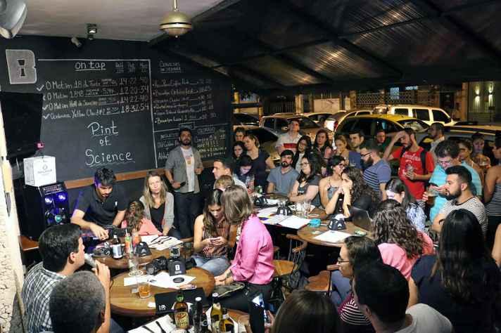 Evento pretende reunir 50 mil pessoas em todo o Brasil para discutir a ciência em bares