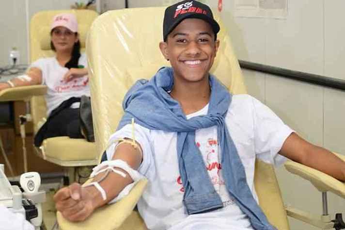 Segundo o Ministério da Saúde, 42% dos doadores são jovens de 18 a 29 anos