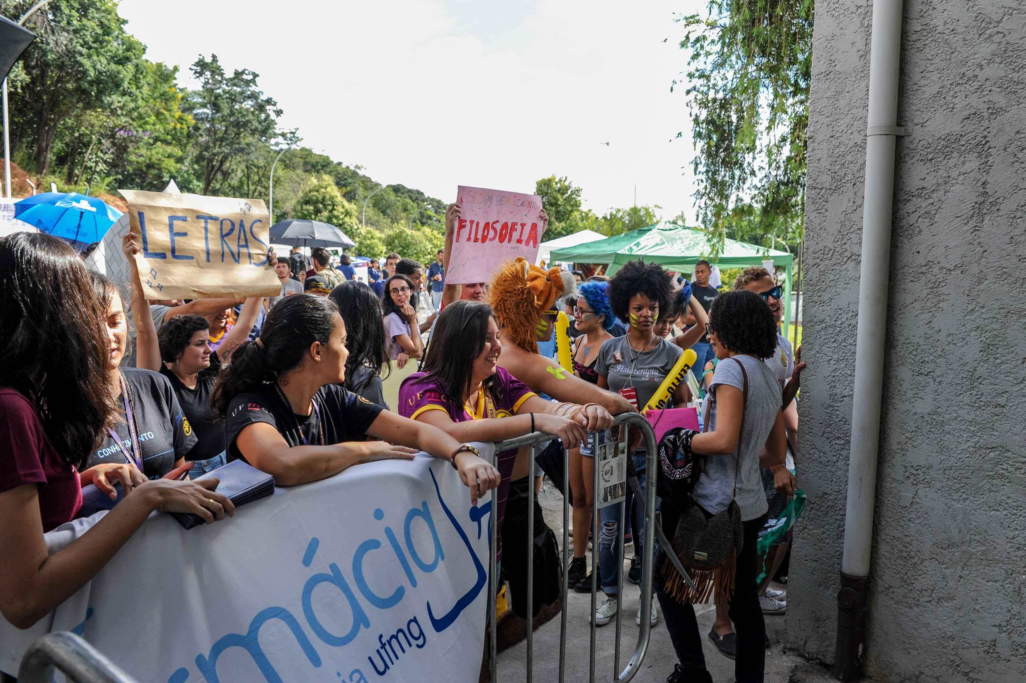 Estudantes que ingressaram na UFMG no primeiro semestre de 2018: perfil mais diversificado