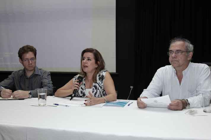 Sandra Goulart Almeida,  vice-reitora da UFMG