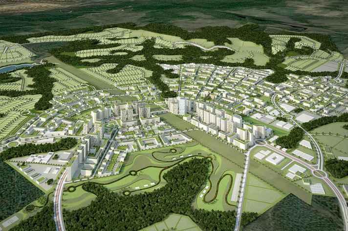 Projeto do empreendimento C-Sul, em Nova Lima