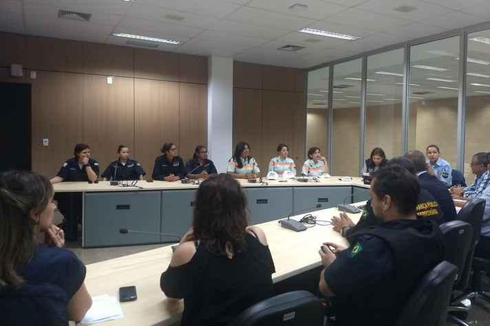 Primeira reunião de alinhamento das ações de combate ao assédio